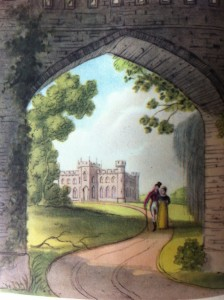 northanger abbey frontispiece