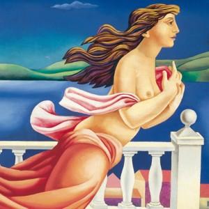 Pintura de Mario Carreño (La Habana, 24 de mayo de 1913 - Santiago, 20 de diciembre de 1999)