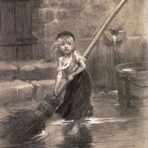 Cosette, por Émile Bayard